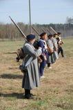 19th reenactment столетия сражения Стоковое Изображение RF