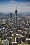 1a powietrzny cbd Johannesburg widok Obrazy Royalty Free