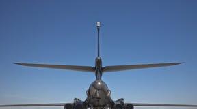 1b b轰炸机背面图 免版税库存照片