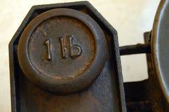 1lb один вес фунта Стоковые Изображения RF