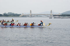 1Malaysia International Dragon Boat Festival 2010 Royalty Free Stock Photo