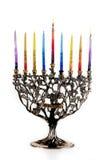 1r día de Chanukah Foto de archivo libre de regalías