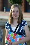 1r día de escuela Imágenes de archivo libres de regalías