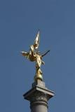 1r Monumento de la división de infantería Foto de archivo