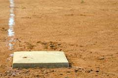 1st Base Royalty Free Stock Photos