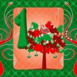 1st Dag van Kerstmis Royalty-vrije Stock Afbeelding