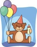 1st födelsedag stock illustrationer