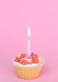1st födelsedagcake Royaltyfria Foton
