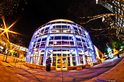 1st january, 2014, charlotte, nc, usa - nightlife around charlot. Te north carolina during holidays Stock Photography