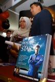 1st muszaphar s sheikh för astronoutsdr malaysia Royaltyfri Fotografi