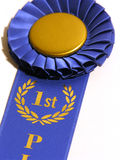 1st Place Royalty Free Stock Photography