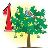 1stdaychristmas vector illustratie