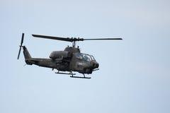 1w ah ελικόπτερο Στοκ Εικόνα