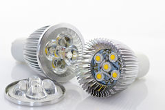 1W LED lamp with optics Royalty Free Stock Images