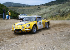 2°Rallye del Corallo - Algher Stock Photography
