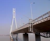 2ème brige de longriver de Nanjin Images stock