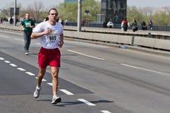 2ô Maratona 2011 de Belgrado. Fotografia de Stock