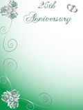 2ö aniversário de casamento Foto de Stock