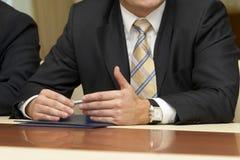 2业务会议 免版税库存图片