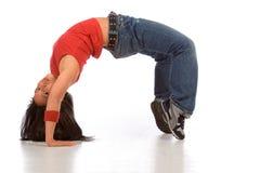2个中断舞蹈演员 免版税库存照片