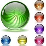 2个五颜六色的集范围构造了 向量例证