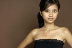 2个亚洲人设计 库存图片