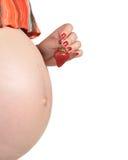 2个人怀孕 免版税库存图片