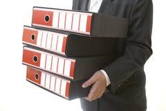 2个企业文件 免版税图库摄影