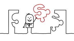 2个企业解决方法 免版税图库摄影