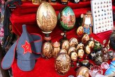 2个俄国纪念品 免版税图库摄影