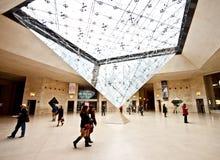 2个入口地下天窗博物馆 免版税库存照片