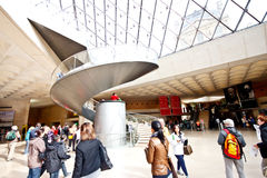 2个入口天窗主要博物馆 免版税库存照片