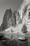 2个公园岩石smiith状态 库存照片