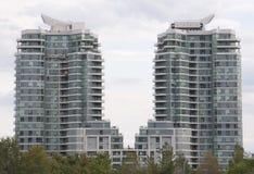 2个公寓房 免版税库存图片