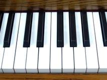 2个关键字钢琴 免版税库存图片