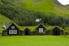 2个农厂冰岛语 库存照片