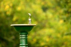 2个喷泉水 库存图片