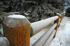 2个国家(地区)冬天 免版税库存图片