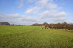 2个国家(地区)路线交叉骑马者 免版税库存照片