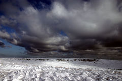 2个场面冬天 免版税图库摄影