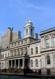 2个城市前大厅纽约 免版税库存照片