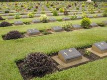 2个墓地战争世界 库存图片