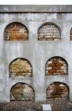 2个墓地新奥尔良穹顶 图库摄影
