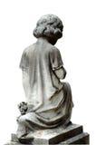 2个墓地雕象 免版税库存照片