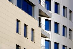 2个大厦现代办公室 免版税库存照片