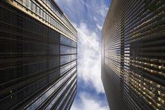 2个大厦 免版税库存照片