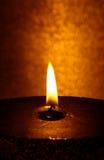 2个大蜡烛 免版税库存图片
