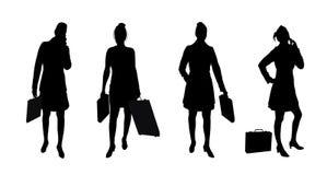 2个女商人 免版税图库摄影