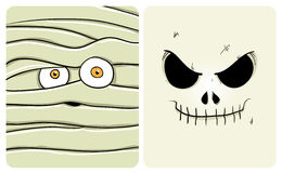2个妖怪系列 免版税库存图片