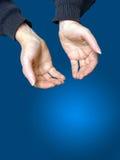 2个姿态提供 免版税库存图片
